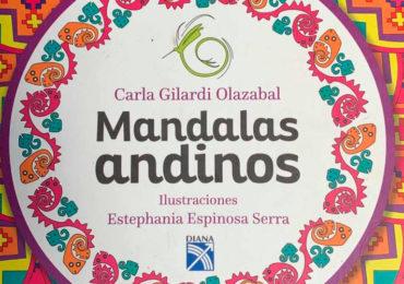 Publican primer libro de mandalas andinas