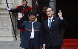 Martín Vizcarra lidera Cumbre Presidencial de la Comunidad Andina