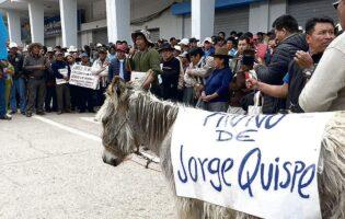 Cusco: población de Canchis protesta contra alcalde