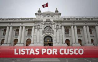 Lo que declararon otros 35 candidatos al Congreso por Cusco