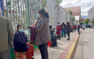 Cusco: inició vacunación para adultos mayores de 70 años