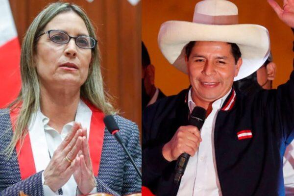 """Alva a Castillo: """"Nuestro país espera que trabajemos juntos para salir de este difícil momento"""""""